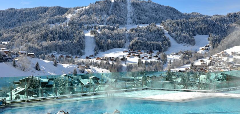La Clusaz - Community outdoor pool